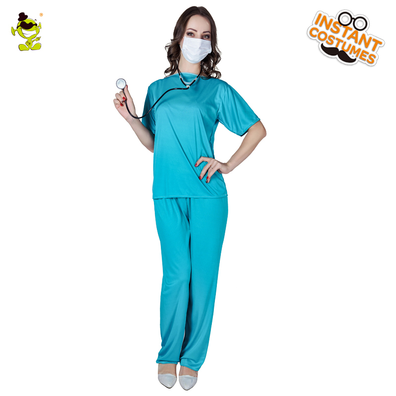 2018 Ladies Sexy Nurse Costume Hottie Outfits for Women Carnival Role Play Gorgeous Female E.R. Doctor Costumes