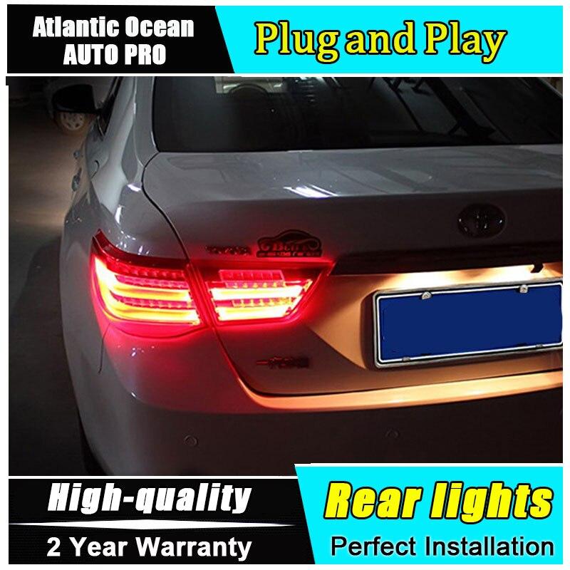Автомобиль JGRT стайлинг для Тойота reiz 2010-2012 задние фонари Марк x LED задний фонарь задний фонарь задний свет 1 пара ,4шт