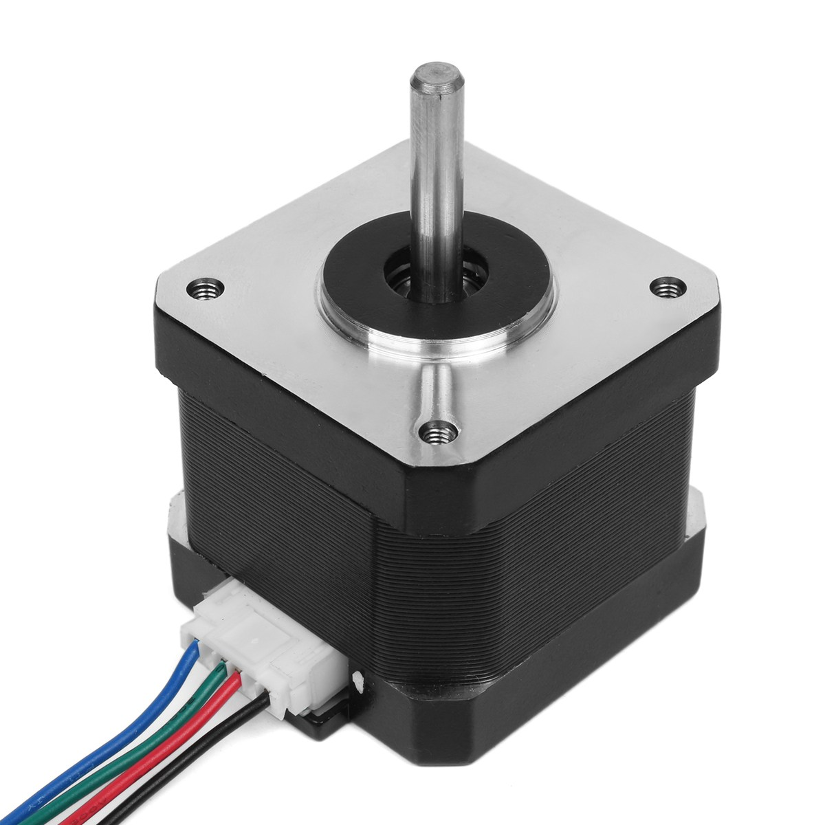 NEMA17 Stepper Motor With 400mm T8 Lead Screw Mounted Ball Bearing And Shaft Coupling For 3D Printer XYZ nema23 linear stepper w 310mm tr10 4 lead screw for 3d printer desktop straight screw motor