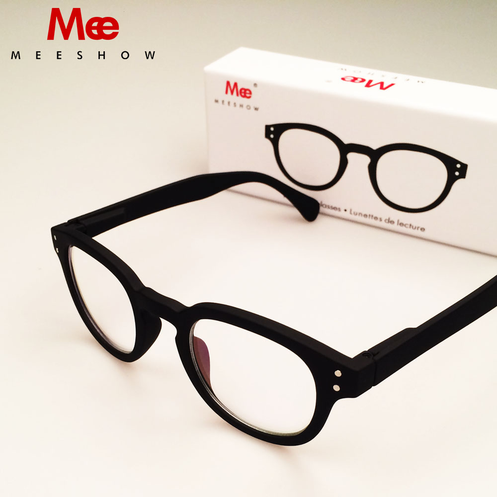 Marka kvaliteta Europa stil Muške žene čitanje naočale modni krug, +1.0 4.0 uključeno Poklon pakiranje Majčin dan dar 1513