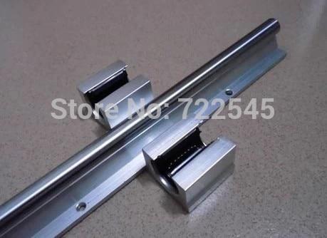 16 mm Linear Rail Set 2xSBR16 Length 1400 mm + 4xSBR16UU Block For CNC Parts Set16 mm Linear Rail Set 2xSBR16 Length 1400 mm + 4xSBR16UU Block For CNC Parts Set