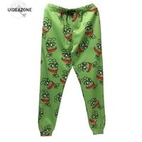 2017 3D Pepe Joggers Unisex Funny Cartoon Sweat Pants Fashion Clothing Sweatpants Autumn Fall Winter Style