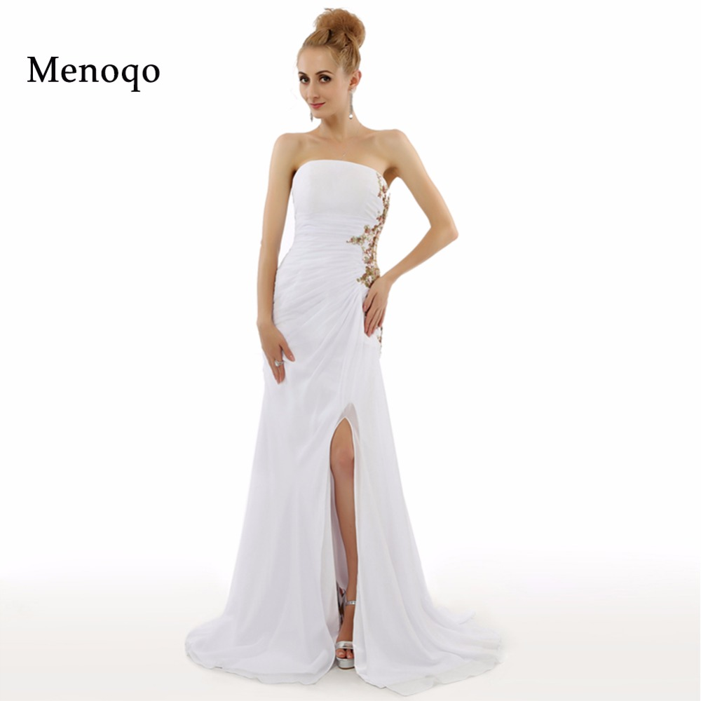 Online Get Cheap White Evening Dresses Long -Aliexpress.com ...