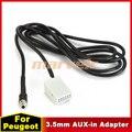 3.5mm Car CD Players AUX-in Adapter For Peugeot  308 407 408  Citroen C2 C5 RD4 C-Quatre Auxiliary Aux Cable Flash Drive AP062