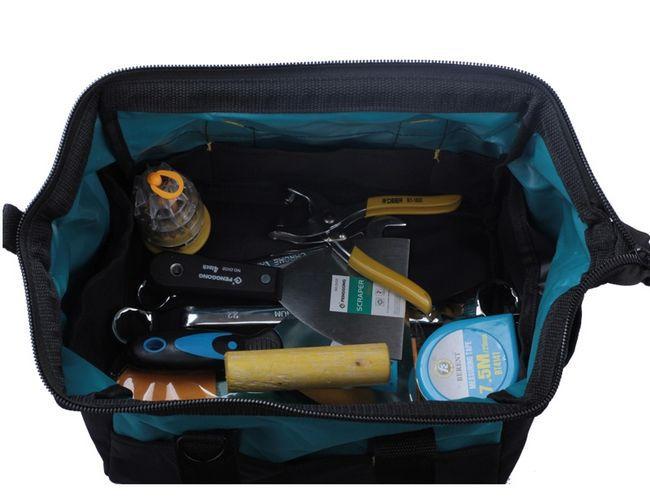 SunRed haute qualité foncé bleu électronique 2014 nouveau 600D oxford multifonctionnel ceinture sac à outils pour outils à main NO 112 livraison gratuite dans Armoires à outils de Outils