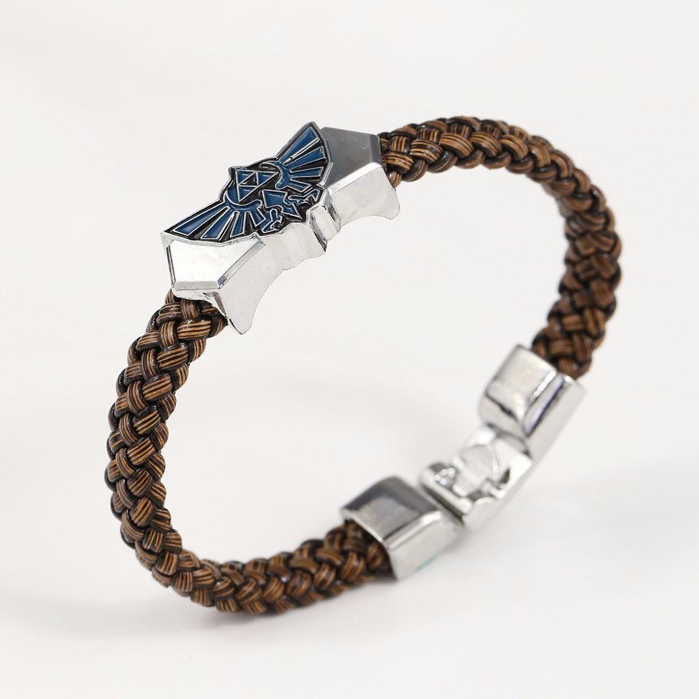 Legend of Zelda Leather Bracelet