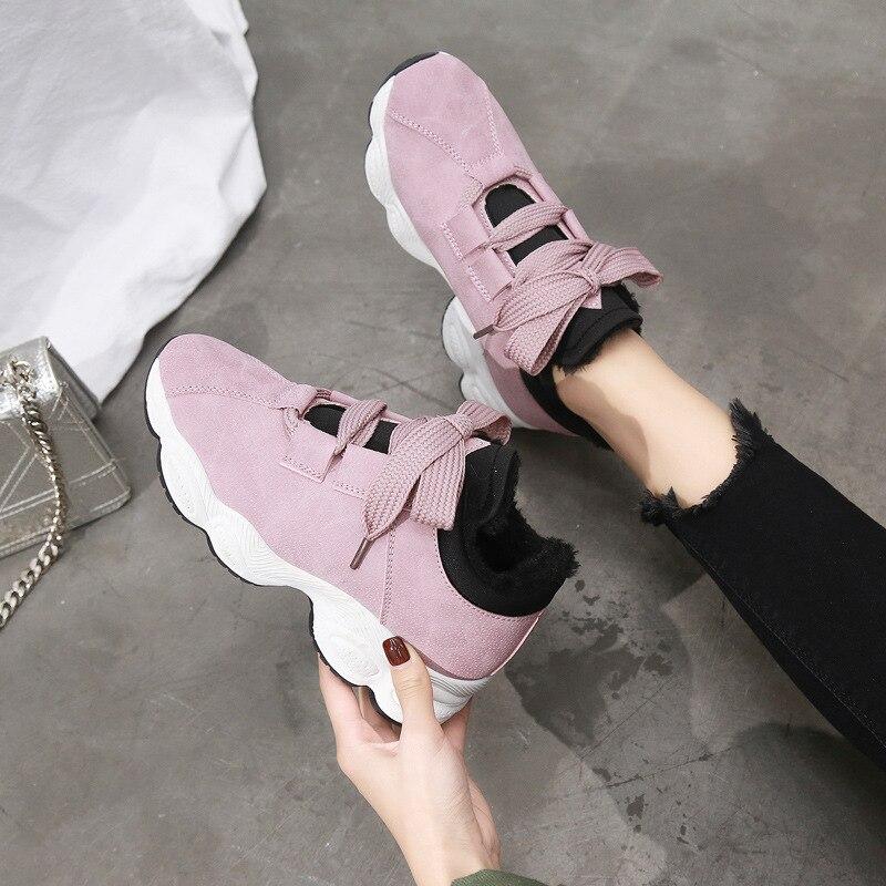 Non À Cravate grey Étudiants De Couleur pink Blanc White L'usure Mode black Résistant Chaud Unie Sneakers Occasionnels Coréenne Course Avant Chaussures Nouvelle Version slip qBOwIEOxZ