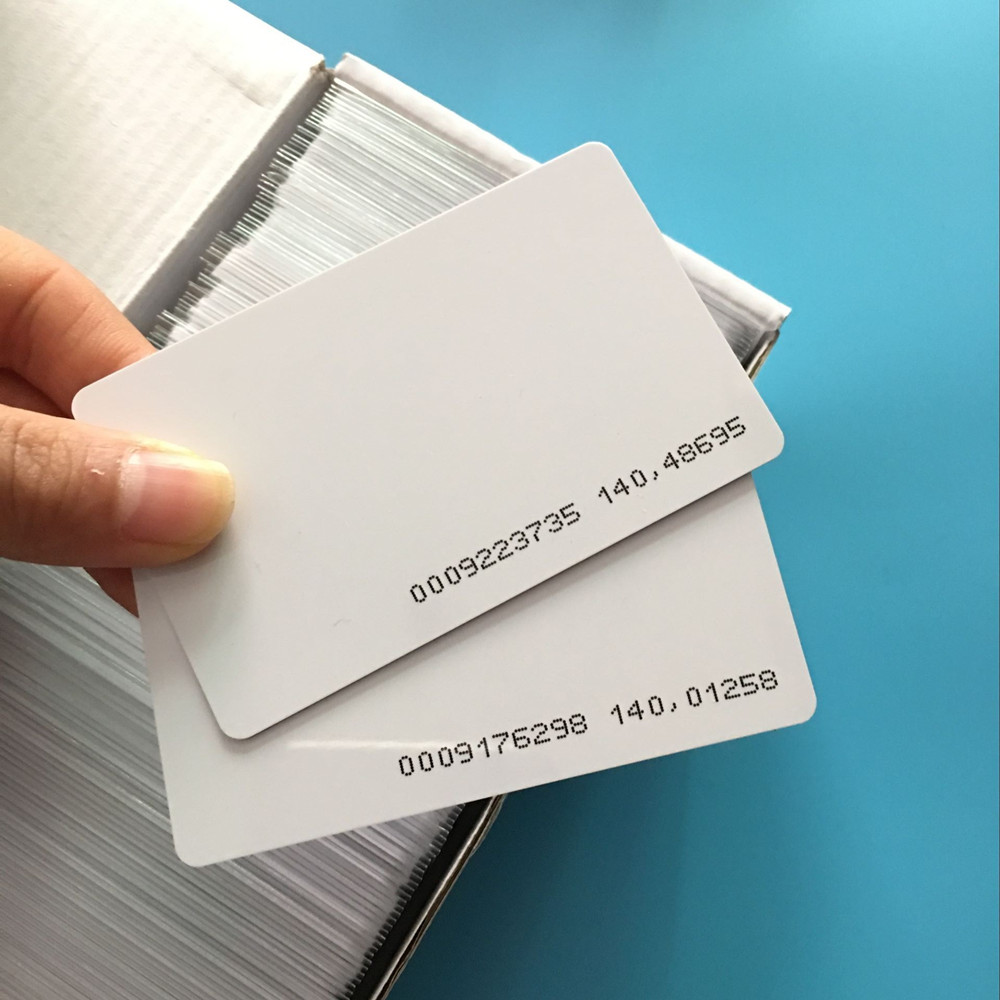 5000PCS 125khz Promixity rfid Hotel Key Card Guest Room Card EM Access Cards non standard die cut plastic combo cards die cut greeting card one big card with 3 mini key tag card