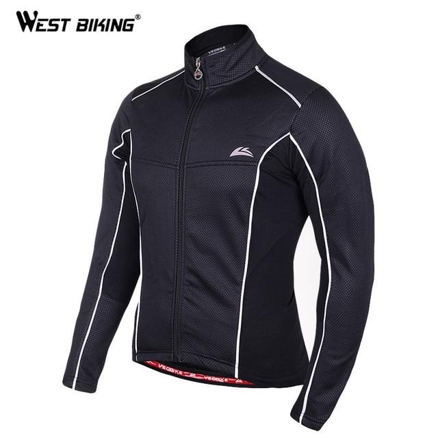 Uomo Giacche ciclismo invernali maglie pile Termico Antivento Addensare Jacket