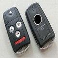 Удаленный Флип Ключ чехол для HONDA ACURA TL MDX НОВЫЙ ODYSSEY CRV ACCORD CIVIC FOB КРЫШКА