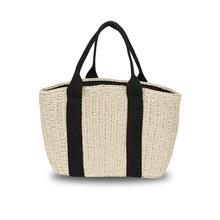 Fashion Straw Braided Rattan Woven Bag Causal Handmade Storage Basket Beach Picnic For Women Girl Shoulder Tote Handbag Bags