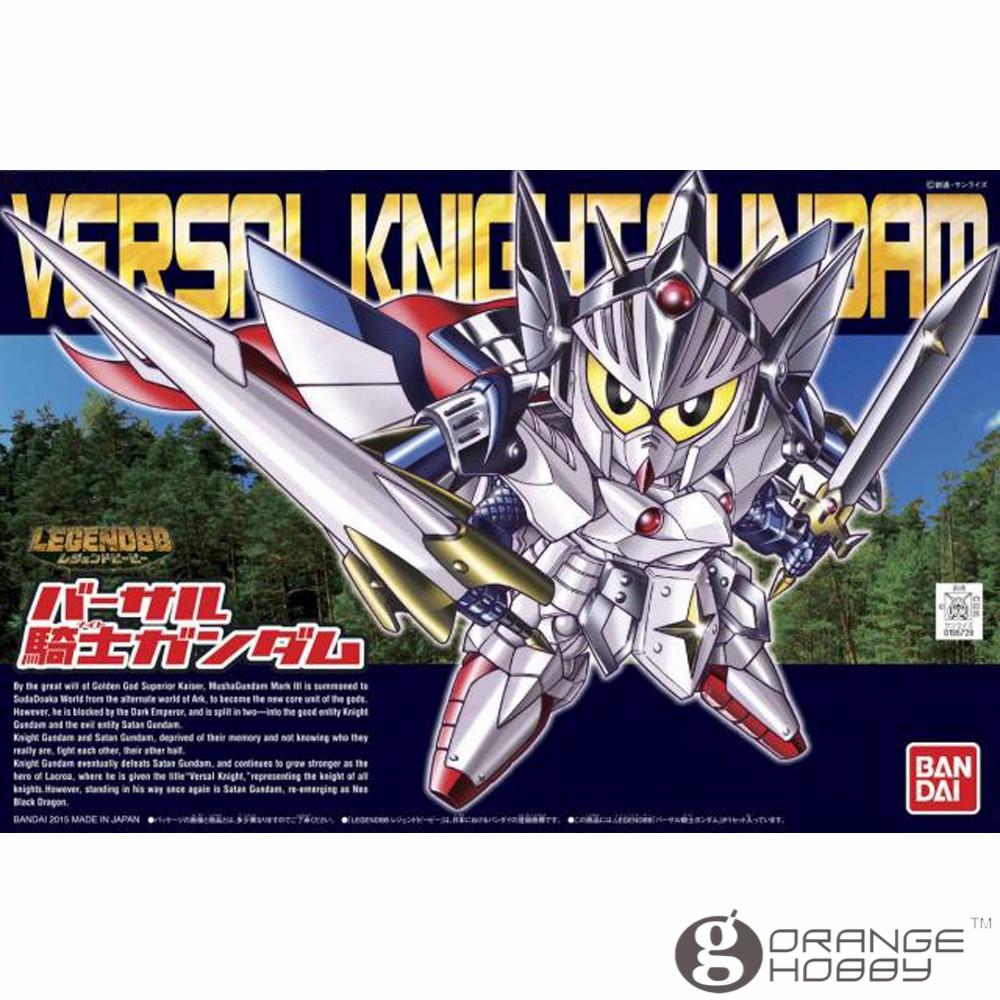 OHS Bandai SD BB 399 Q-Ver Versal Knight Gundam Mobile Suit Assembly Model Kits oh bandai bandai gundam model sd q version bb 309 sangokuden wu yong bian xiahou yuan battle
