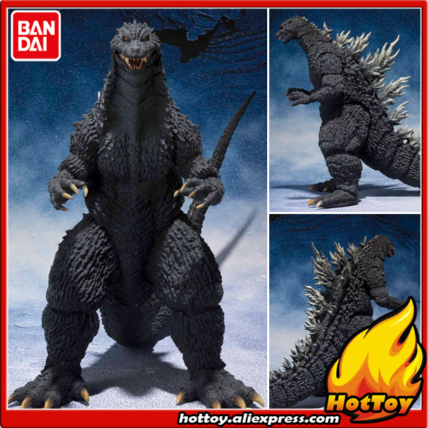 100% Original BANDAI Tamashii Nation S.H.MonsterArts (SHM) Action Figure - Godzilla (2002) from Godzilla Against Mechagodzilla client side action against cross site scripting attacks