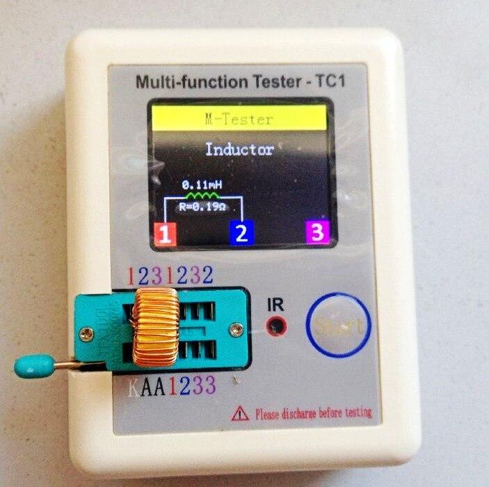 De Poche Transistor Testeur Est Le Lcr Tc1 Pleine Couleur D
