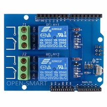 5V 2-Channel IR Relay Shield Expansion Board Module for Arduino Dual Relay Module