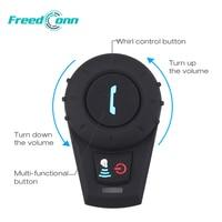 FreedConn Motorcycle Helmet Headset 500M Bluetooth BT Interphone Headset Helmet Intercom Sports moto intercomunicador