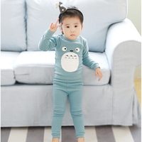 2pcs Set Cotton Spring Autumn Totoro Baby Boy Girl Clothing Sets Clothes Set For Babies Boy
