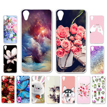 Ojeleye DIY Patterned Silicon Case For HTC Desire 626 Case Soft TPU Cartoon Phone Cover For HTC 626 Covers Bags Anti-knock Shell стоимость