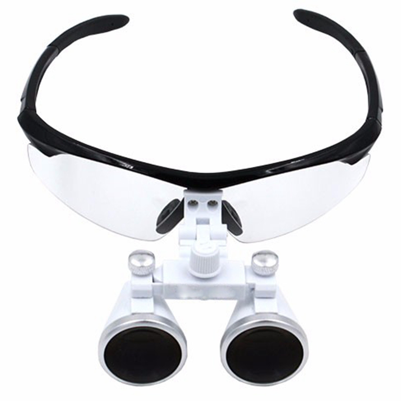 Dental Loupes 3 5X 420 mm Surgical Magnifying Glasses Dental Equipment Surgical Dentists Magnifier with Eyeglasses