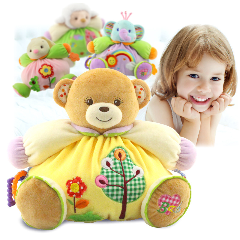 Baby Toys 0 12 13 24 Months Rattles Cartoon Plush Soft Toys For Baby Toddlers Brinquedos Para Bebe Oyuncak Baby Boy Girl Toys
