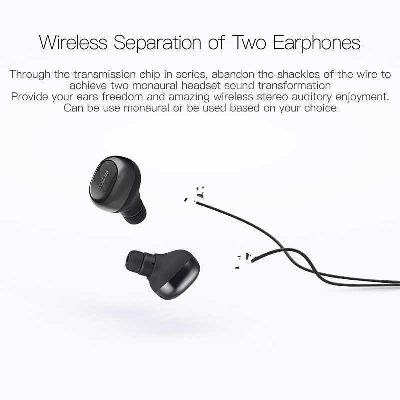 QCY Q29 TWS business Bluetooth auriculares inalámbricos 3D estéreo auriculares y banco de energía con micrófono llamadas manos libres