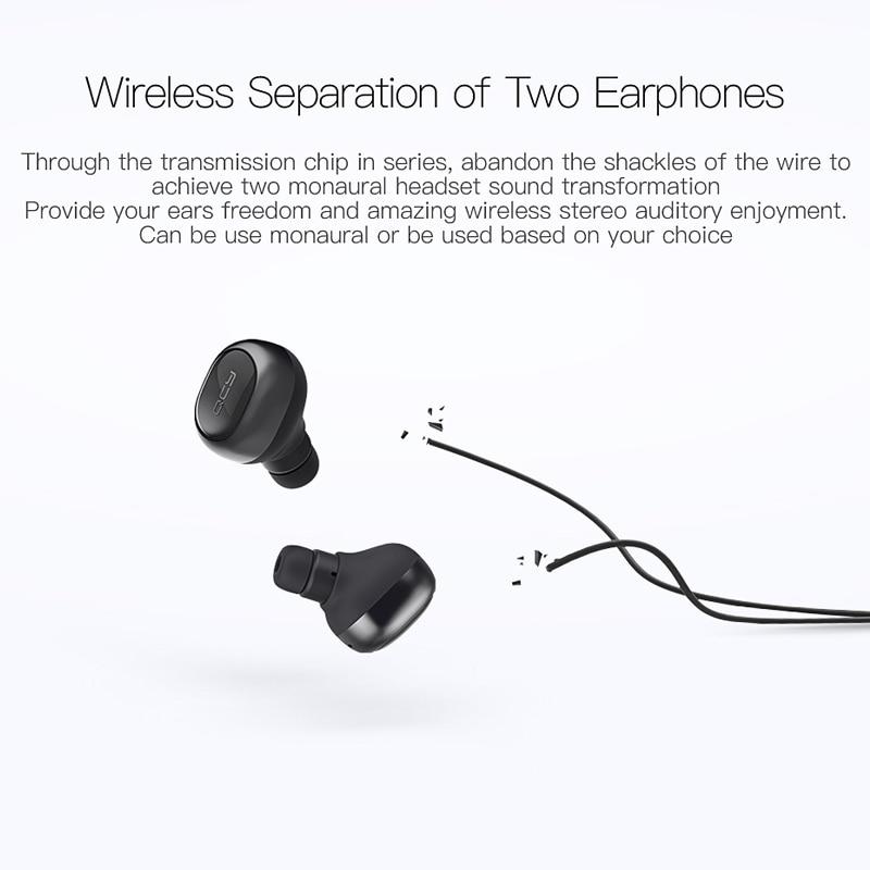 QCY Q29 TWS business Bluetooth-hörlurar trådlösa - Bärbar ljud och video - Foto 3