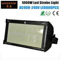 TIPTOP TP-S1000 1000 واط Led ضوء إحترافي اللون الأبيض 6500 k-7200 k 2/6/8 قنوات وسائط 800 قطعة LED مصلحة الارصاد الجوية 50-50 عالية الطاقة Led ستروب