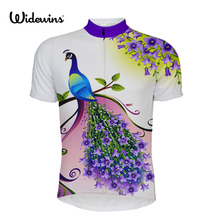 woman Phoenix Cycling Jersey Short Sleeve Violet Bike Breathable Bicycle Clothing For Spring Summer Autumn 5582