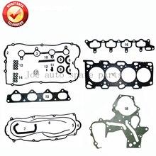 G4JS Engine Full gasket set kit for Hyundai Santa Fe Sonata Kia Optima 2.4L 99-06 20910-38E00-AS 20910-38E00