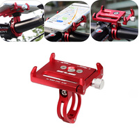 2Pcs Lot G 85 Aluminum Alloy Bike Bicycle Holder Motorcycle Handle Mount Bracket Stand For Cellphone