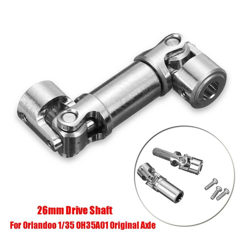 Aluminum Metal RC Car Accessory 26mm Drive Shaft for Orlandoo 1/35 OH35A01 Remote Control Car Part цена