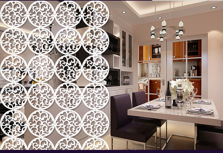 Wooden Partition aliexpress : buy circular wooden hanging screens/room
