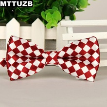 2pcs fashion men's cravata formal bow tie man casual business dress suit neckties men bowties wedding party accessories MTTUZB