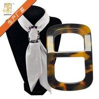 1 Stuk Fashion Vrouwen Hars Brief H Sjaal Gesp Hoge Kwaliteit Sjaal Gespen Broches Pins Sieraden