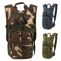 e36e34750ce 15L Tactical Backpack 800D Oxford Military Hiking Bicycle Backpacks Outdoor  Sports Cycling Climbing Camping Bag Army