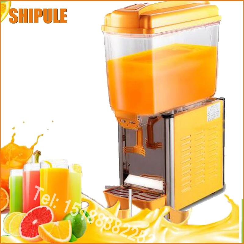 Livraison gratuite simple réservoir vertical cylindre froid boisson machine simple froid jus machine boisson machine froide boisson machine