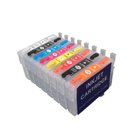 R2000 refillable inkjet cartridges for epson stylus photo R2000 with ARC chips free shipping on high quality 2017 hot sales