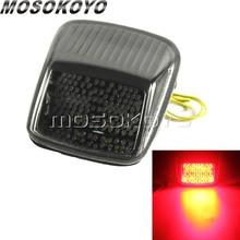 Для Harley двойка V-ROD дым светодиодный фонарь светильник красный/янтарный интеграции светильник тормоз индикаторная лампа