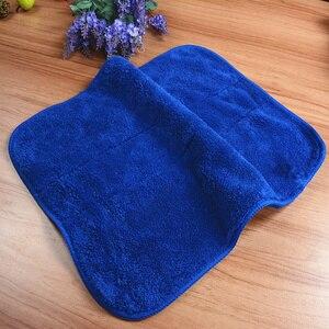 2 шт. 30*40 см двойной утолщенный коралловый бархат микрофибра полировка пыли полотенца автомобиля чистящая ткань пол тряпки семейная Чистка