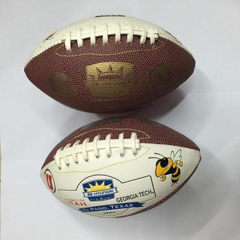 Rozmiar 3 piłka do Rugby amerykański piłka do Rugby futbol amerykański piłka sport i rozrywka dla dzieci dzieci szkolenia tanie i dobre opinie Amerykańska EddyFly