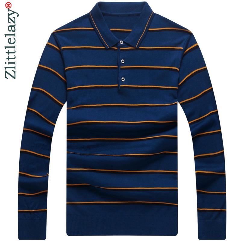2015 Men's Business Casual Casual Print Formal Dress Long ...   Men Polo Long Sleeve Dress