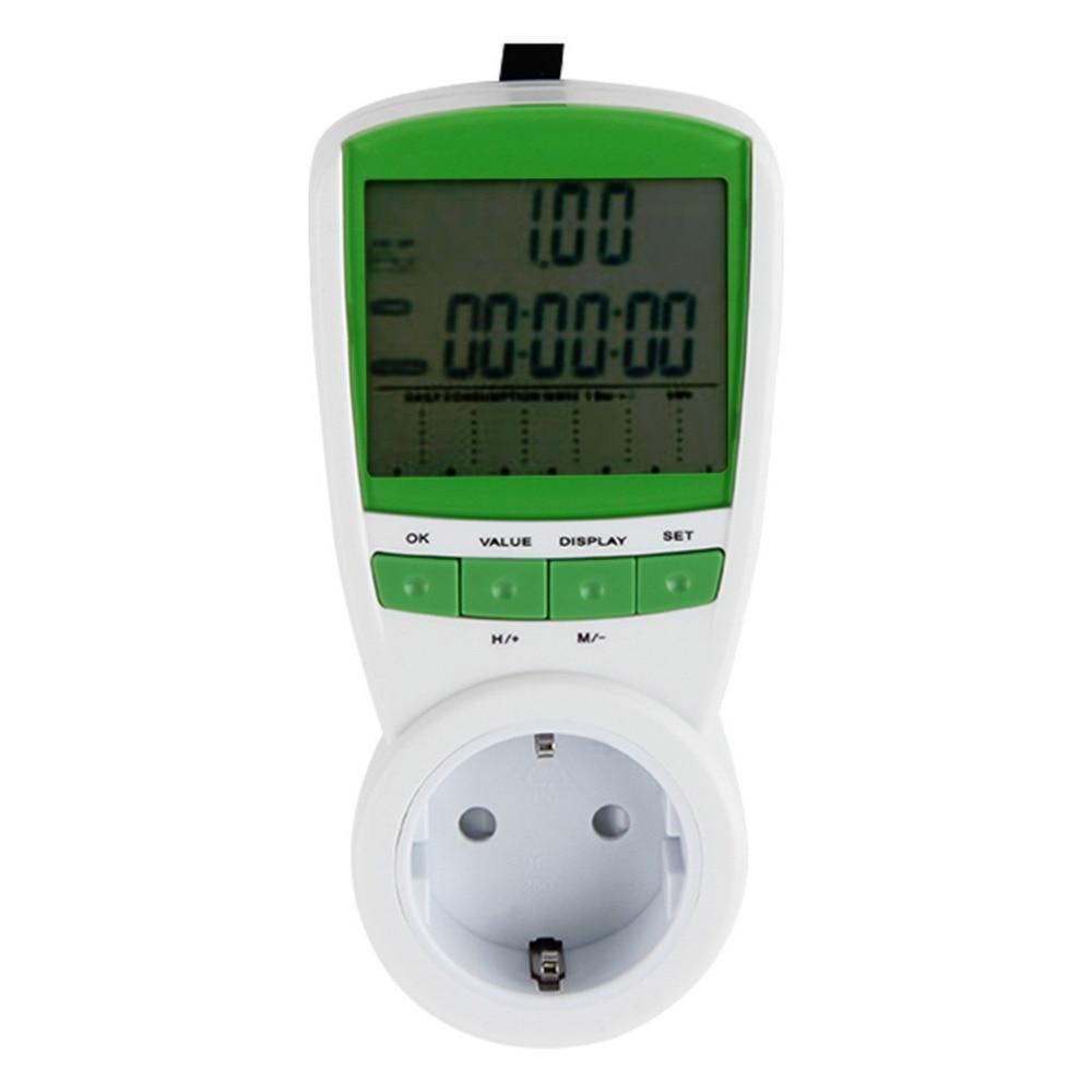 1pcs 230V 50Hz Energy Power Meter Watt Volt Amp Frequency Monitor Analyzer Worldwide Store