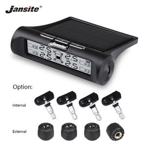 Jansite Smart Car TPMS Tyre Pressure Monitoring System Upgrade Display Mode Solar