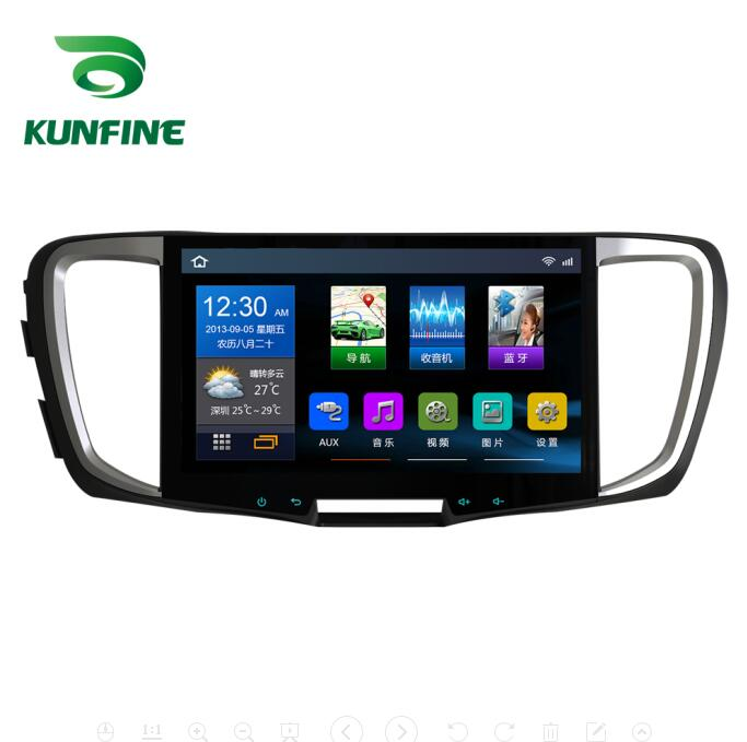 Quad Core 1024*600Android 6.0 lecteur de voiture DVD GPS Navigation stéréo sans couvercle pour Honda Accord 2018 Radio Headunit wifi