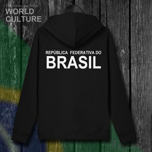 Image 3 - บราซิล Brasil BRA บราซิล BR ซิป fleeces hoodies ฤดูหนาวชายเสื้อแจ็คเก็ตและ nation เสื้อผ้าประเทศเสื้อ