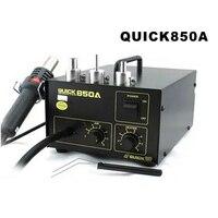 Barato Original Quick 850A SMD Estación de retrabajo ESTACIÓN DE desoldadura de aire caliente antiestática con