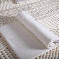 Massage Pad Single Double Emulsion Natural Latex Thickness 3cm Folding Soft Mattress Tatami Mattress Topper With