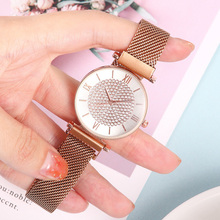 Fashion Gypsophila Women Watch 2019 Ladies Quartz Dress Wristwatches Luxury Magnetic Waterproof Bracelet Clock relogio feminino