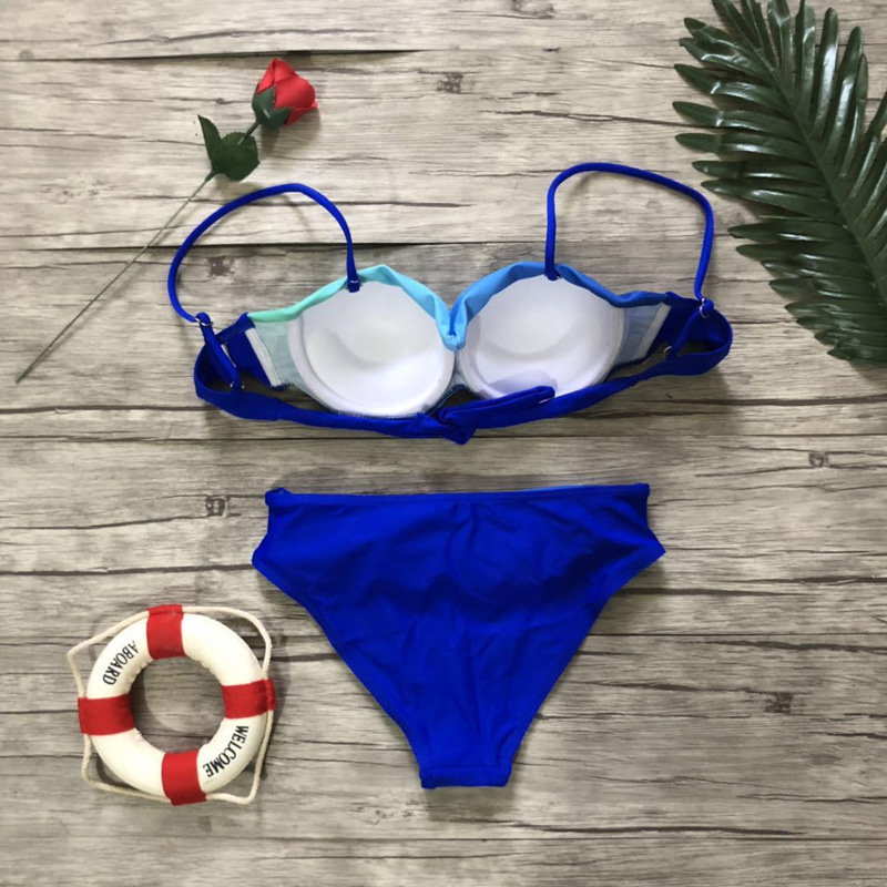 HTB1Y2rjaZrrK1RjSspaq6AREXXa2 Women Sexy Print Swimwear 2019 New Female Two Piece Swimsuit Female Separate Push Up Bikini Set Beach Bathing Suit Micro Bikini