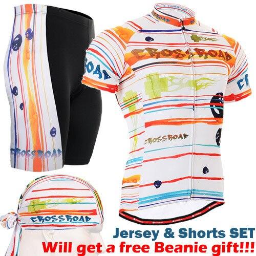 ФОТО 2017 New Cycling Set Man Women Bicycle Clothing ropa ciclismo MTB Bike GEL Pad Cycling Jersey Set
